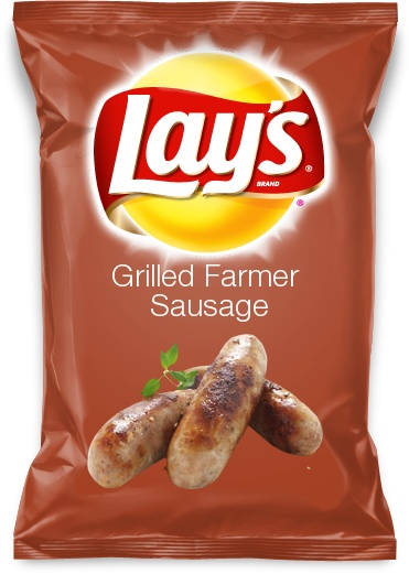 Grilled Farmer Sausage
