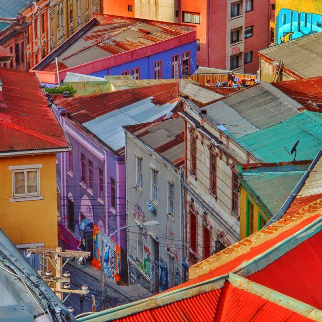 The colourful streets of Cerro Alegre | Chile Uncovered: Valparaíso Travel Tips To Know Before You Go