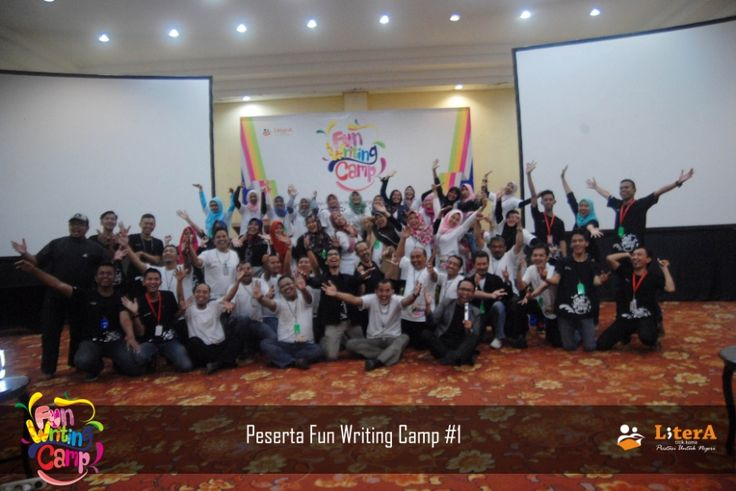 Peserta Acara Fun Writing Camp #1  #NulisItuKece