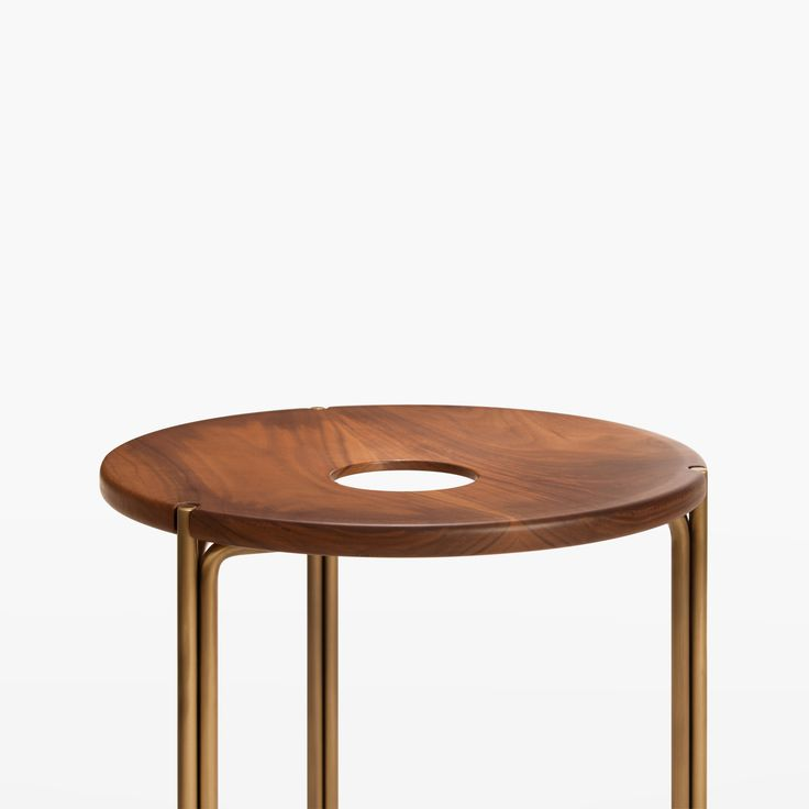 minimalist coffee stools. Contemporary Handcrafted Minimalist Modern Stool in Oiled Walnut and Brass 2 300 best STOOLS images on Pinterest