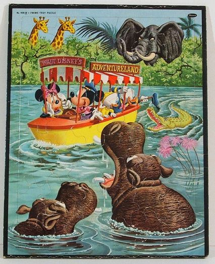 vintage jungle cruise