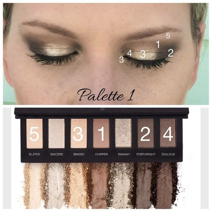 Beautiful Pallette 1 gives glamour to the brown lovers