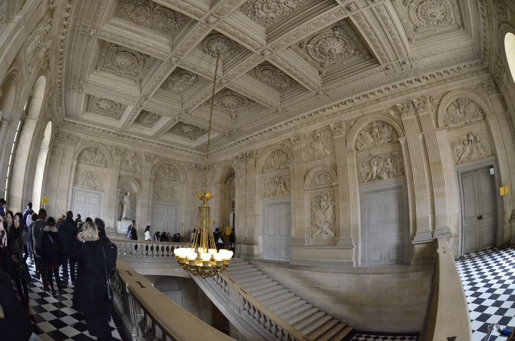Versailles Palace Interior with Fisheye lens : exit stairc… | Flickr
