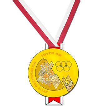 Médaille des Jeux Olympiques à fabriquer