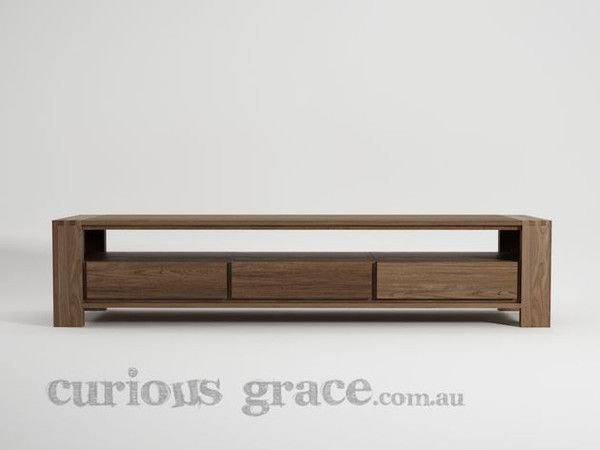 Experience TV Unit with 3 drawers