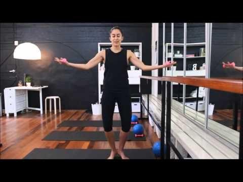 Brisbane Barre Studio | Barre Workout 102 - YouTube