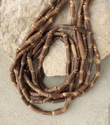 Для украшений ручной работы. Ярмарка Мастеров - ручная работа. Купить Трубочки 15х5 мм - 10 шт виноградная лоза бусины для украшений. Handmade.