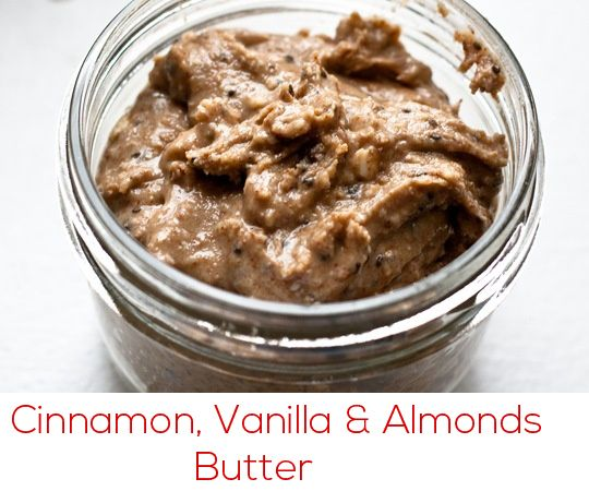 ... vanilla almond butter! Combine and spread on your toast, or dip apple