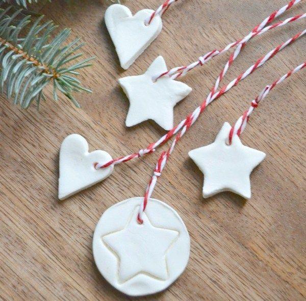 decorazioni natalizie con la pasta al bicarbonato