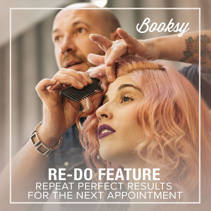 Booksy App gives you the opportunity to repeat the results on every appointment! Check out now  blue Booksy BIZ app and let your clients find you online!