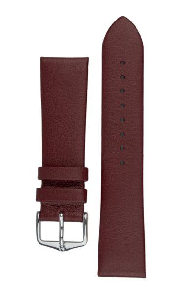 Burgundy Hirsch Cashmere strap