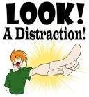 Reaction time: Distractions effect reaction time because it increases the reaction time