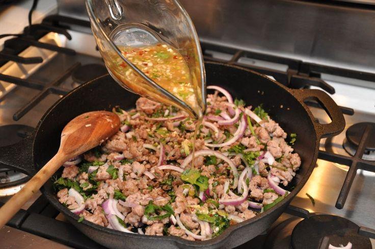 Nam Sod - Thai Pork Salad Recipe