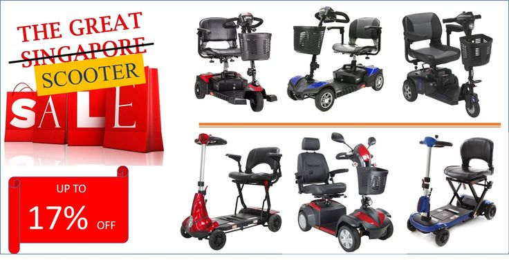 The Great Scooter Sale, now on! Up to 17% discount! #mobilityscooter #electricwheelchair #wheelchair