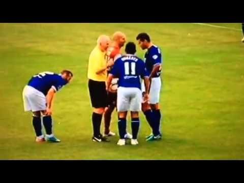 Chesterfield Fc's Gary Roberts v Cheltenham's player