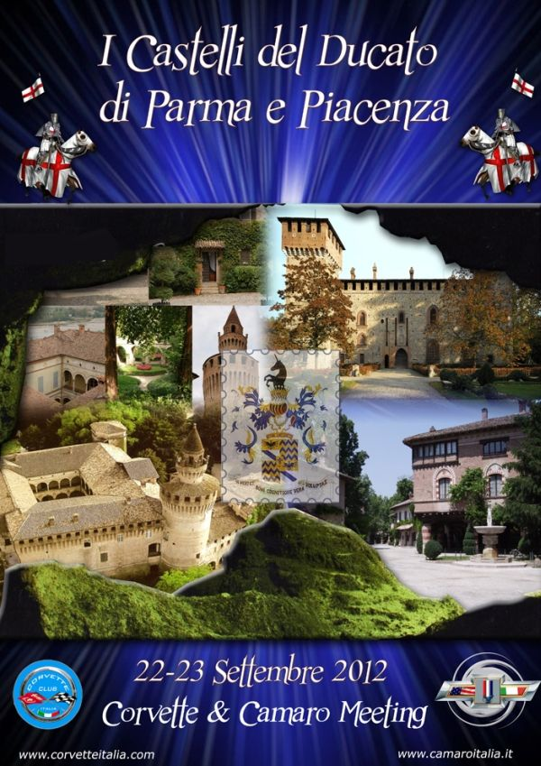 Corvette e Camaro Meeting - Parma-Piacenza