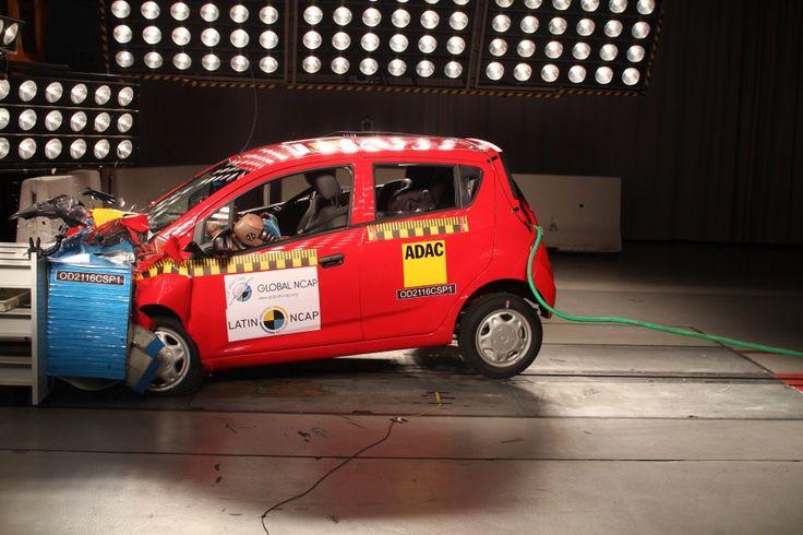 El Chevrolet Spark GT obtiene cero estrellas en prueba de seguridad - Estereofonica