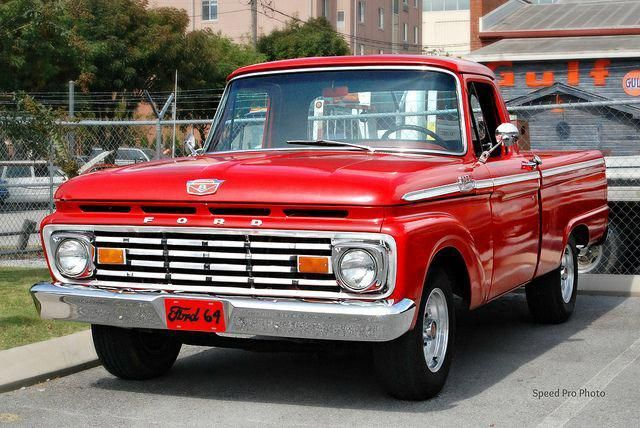 1964 Ford F 100 Maintenance Restoration Of Old Vintage Vehicles The Material For New Cogs Casters Gears Pads Classic Ford Trucks Old Pickup Trucks Ford Trucks