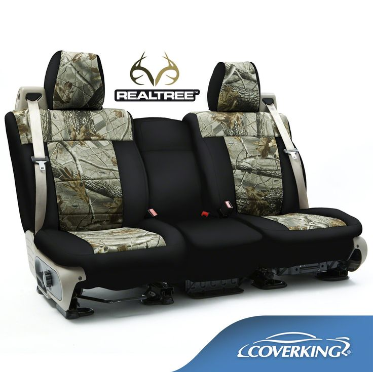 Coverking Neosupreme Realtree Camo Custom Fit Seat Covers