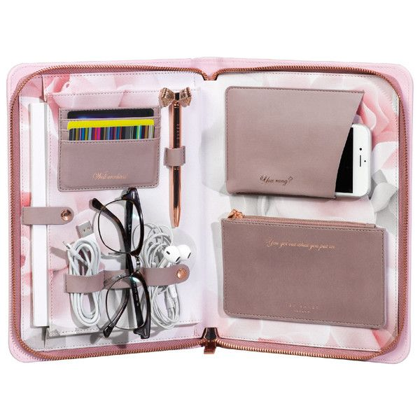 Ted Baker Travel Lifestyle Organiser Thistle ($25) ❤ liked on Polyvore featuring home, home decor and ted baker