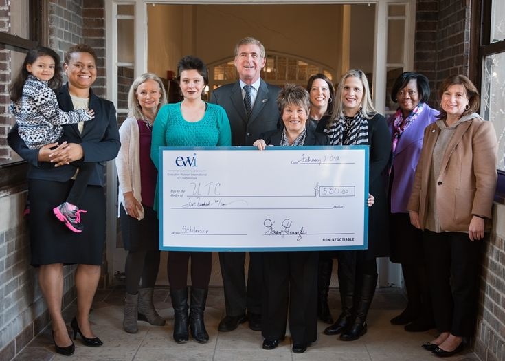 Executive Women International supports single parents for more than 20 years with scholarship! #utchattanooga #utc