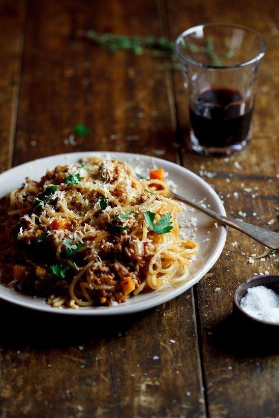 Italian Food ~ #food #Italian #italianfood #ricette #recipes #pasta ~ Spaghetti Bolognese