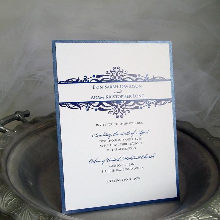 wedding invitation wording vegetarian option%0A Vintage Wedding Invitations Sample         via Etsy