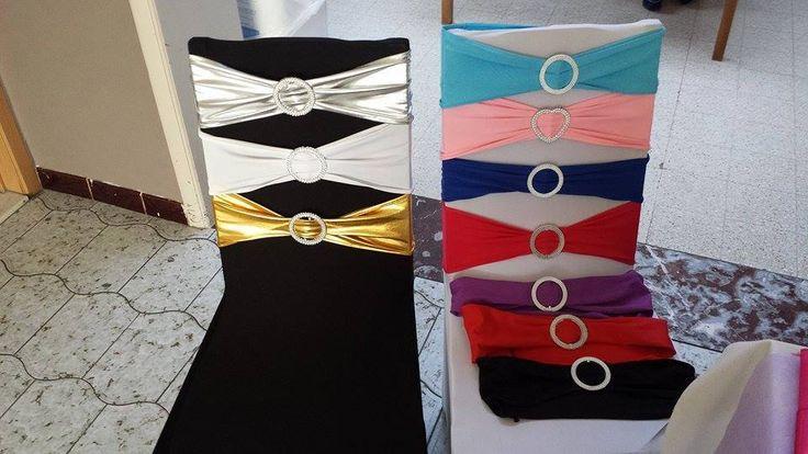 Noeuds de chaises - différents coloris