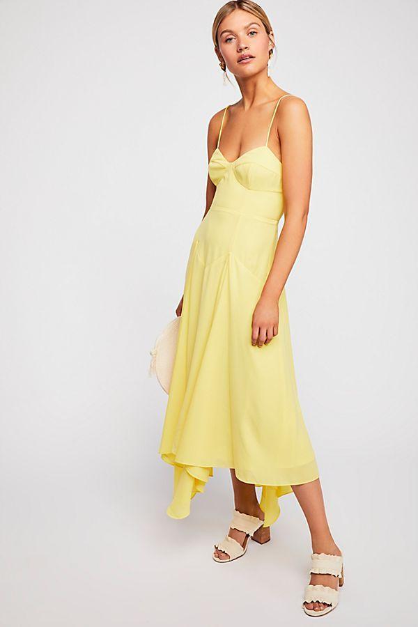 18b51dc2ad2cd The Dean Midi Dress | dresses | Dresses, Free people, Free people dress