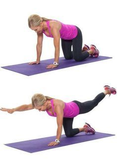 The 20-Minute Weight Training Workout For Seniors: Bird Dog