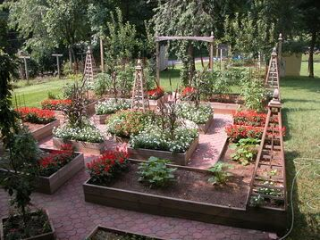29 best images about potager plans on pinterest gardens for Potager garden designs