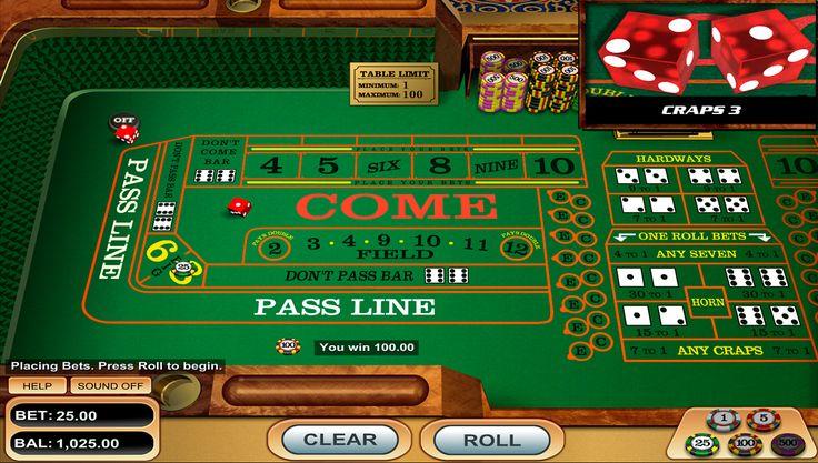 #Würfelspiel Craps von #BetSoft kostenlos spielen! Versuche dein Glück im populären Casino Würfel Spiel!