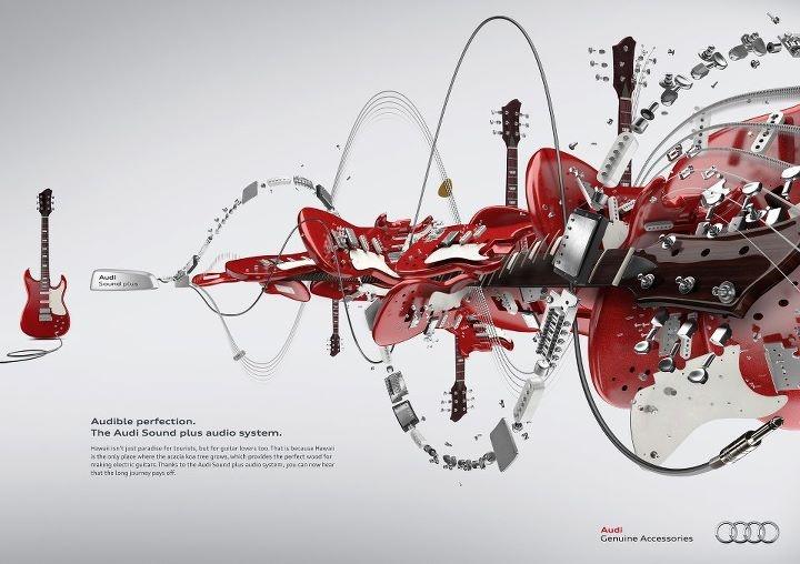 Audi Sound plus Campaign