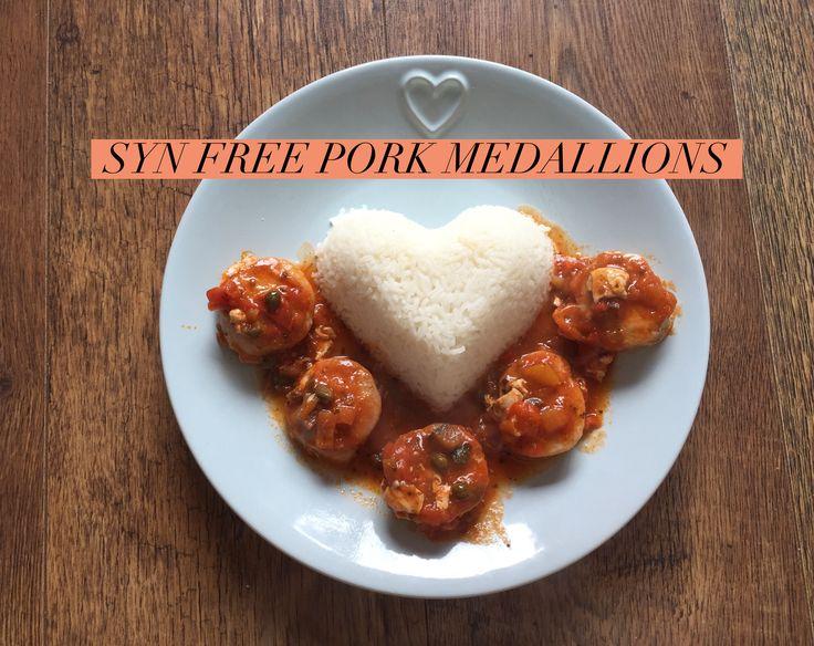 Pork medallions recipes uk