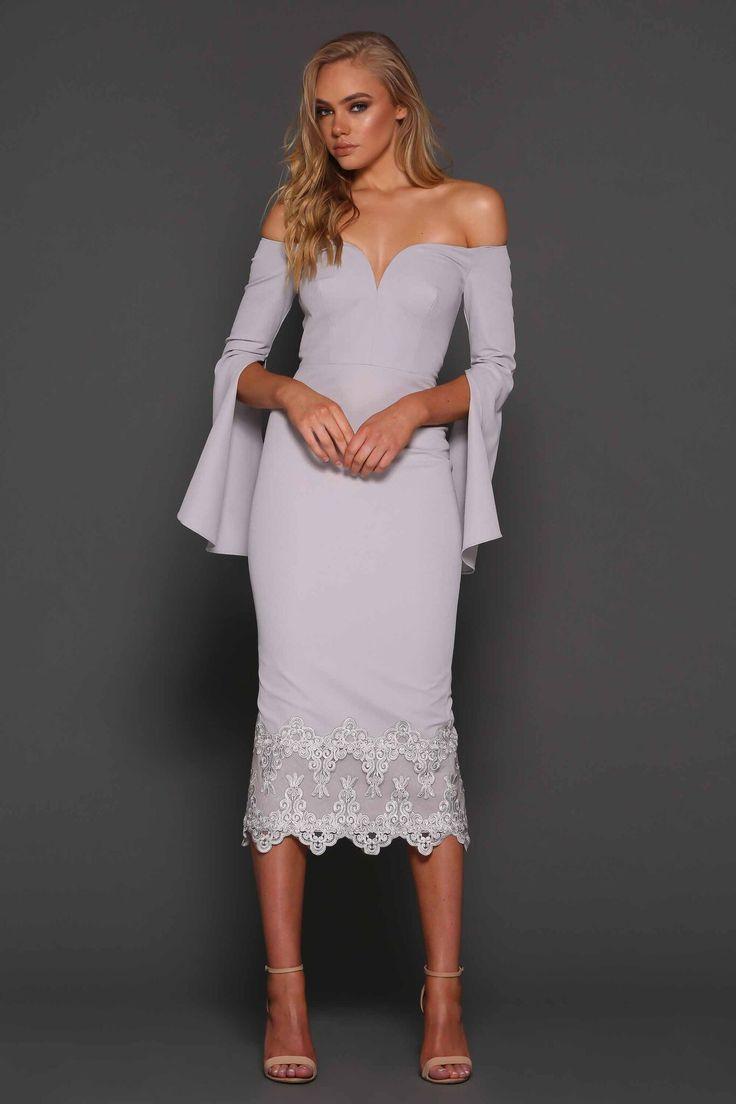 Elle Zeitoune  - Bella Dress - Blue Stone