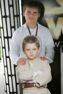 acteurs de star wars sans costumes jake lloyd anakin skywalker   Quelques acteurs de star wars sans costumes   star wars photo image Dark Va...