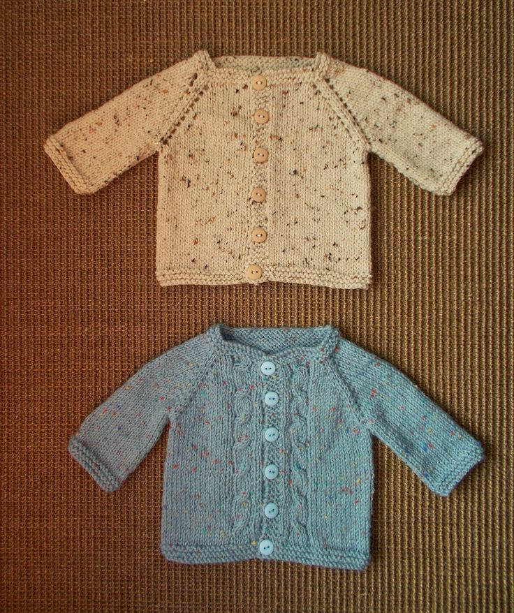 Max Baby Cardigan with cable fronts   Here is a cute little baby cardigan designed especially for the boys.  For a baby of a...