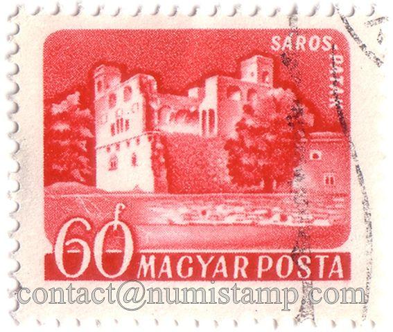 Hungary – Magyar 60f – Saros Patak – Magyar Posta – used postage stamp