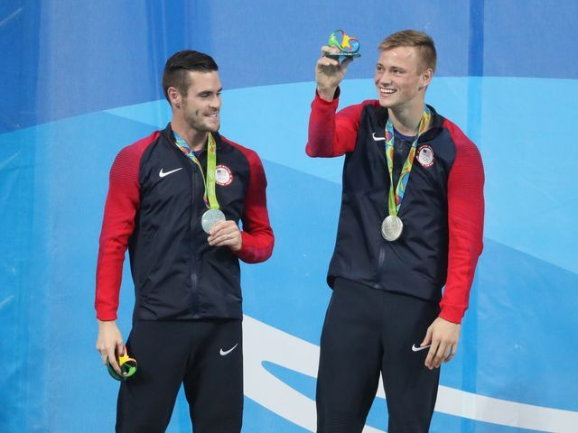 David Boudia, Steele Johnson win silver in synchronized diving