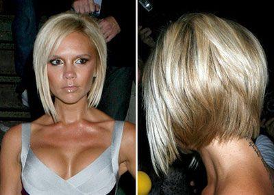 Want this hair colorShort Hair, Bobs Haircuts, Inverted Bob, Bobs Hairstyles, Shorts Haircuts, Victoria Beckham, Hair Cut, Shorts Bobs, Hair Style