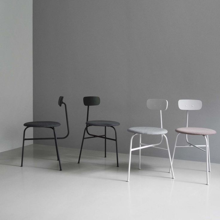 Menu Afteroom Chair Black Stoel zwart