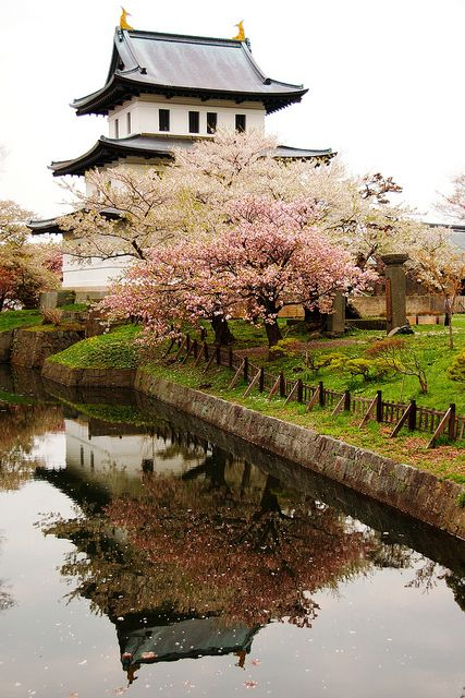 Matsumae Castle, Hokkaido, Japan Hokkaido is truly filled with many wonders, book your next flight today and check out what Japan has in store for you! www.sundeviltravel.com