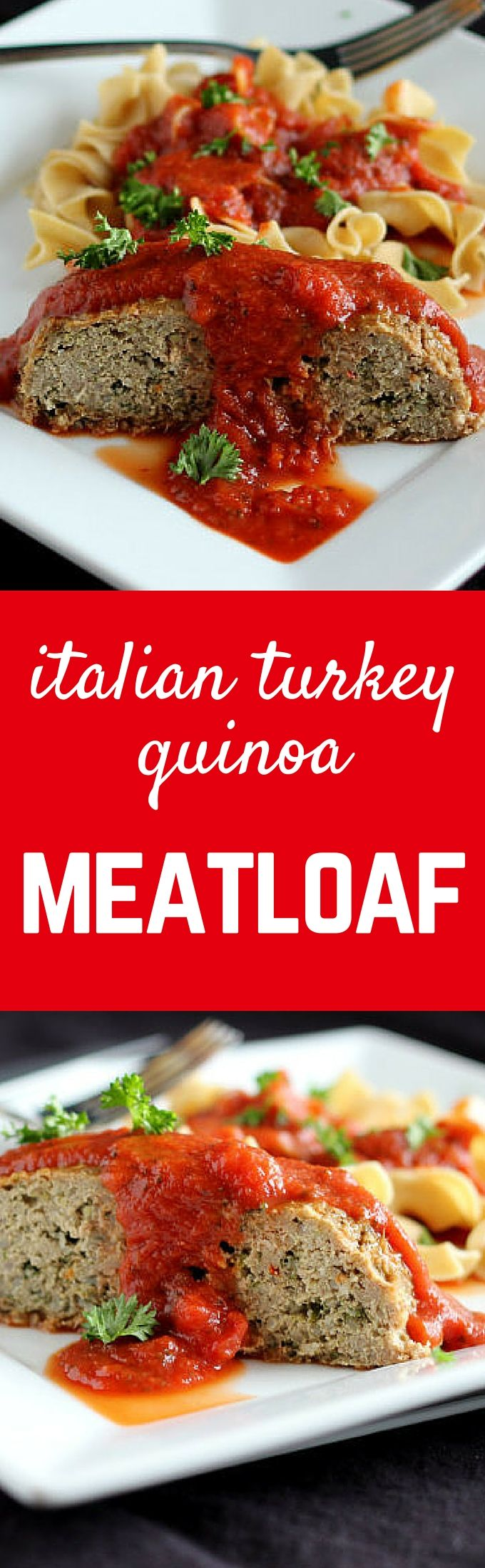 You'll love this heart-healthy Italian Turkey Quinoa Meatloaf! You might never go back to using breadcrumbs. Get the healthy main dish recipe on RachelCooks.com!