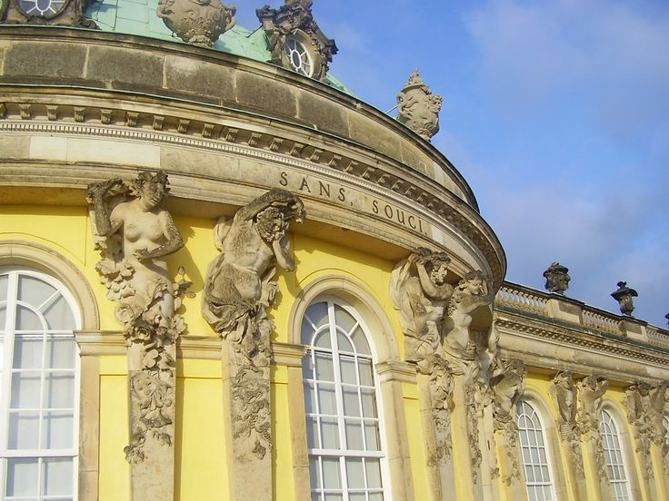 Замки Германии: Сан-Суси (Schloss Sanssouci). Обсуждение на LiveInternet - Российский Сервис Онлайн-Дневников