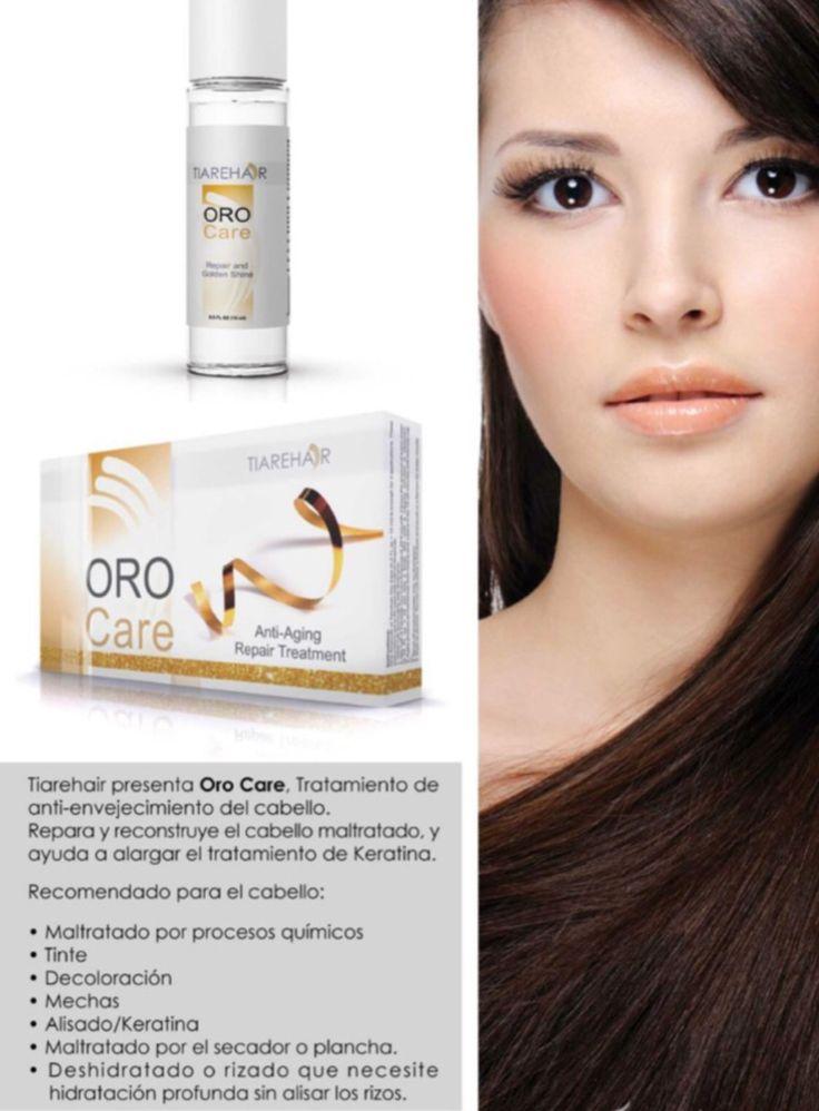 Oro care. La mejor forma de rejuvenecer tu cabello Ampolletas anti edad