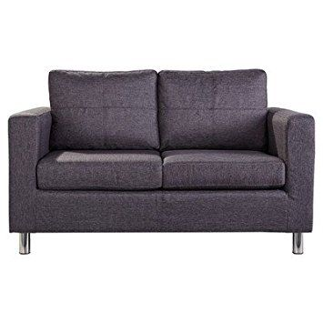 Leader Lifestyle Oxford 2 Seater Sofa, Aston Grey