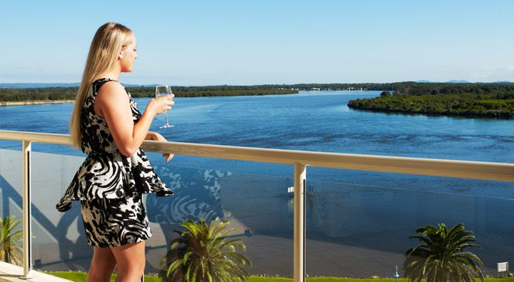 A two bedroom water view at Rydges Port Macquarie. #Hotel
