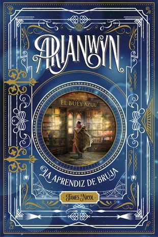 Arianwyn by James Nicol. Cover design: LuisTinoco  Published: Editorial laGalera www.luistinoco.com