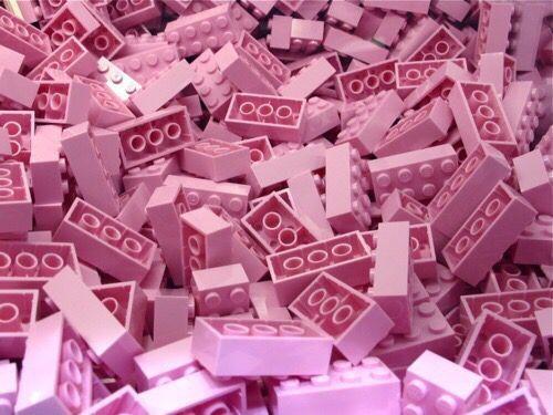 Imagem de pink, lego, and pastel