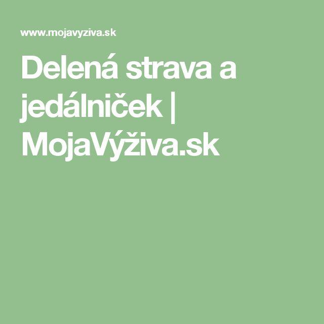Delená strava a jedálniček   MojaVýživa.sk